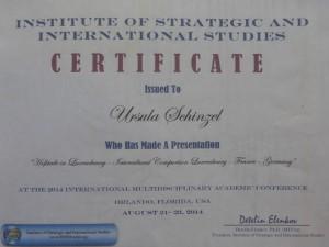 Certificate_ORLANDO2014